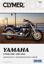 CLYMER REPAIR MANUAL Fits: Yamaha XVS1300A V Star 1300 Tourer,XVS1300 V Star 130