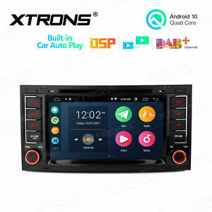 """7"""" Android 10 32GB GPS Car DVD Stereo Radio Car Auto Play For VW Touareg 2004-11"""