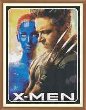 X MEN Cross Stitch Chart  x 9.1 x 12.0Inches