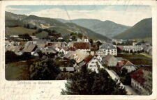 AK Schönau 1906 Panorama Schwarzwald Wiesental / Benau Freiburg