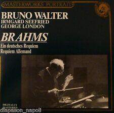 Brahms: German Requiem (Un Requiem Tedesco) / Bruno Walter, Irmgard Seefrie - CD