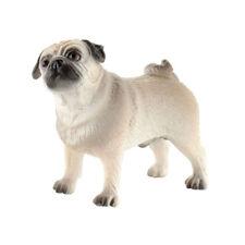 "Bullyland 65425 Figurine "" Mops Percy "" (Dog) Plastic Token New! #"