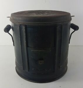 Stove Antique IN Charcoal, Metal