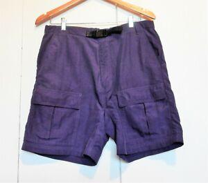 EMS – Eastern Mount Sports – Women's 100% Nylon Navy Hiking Shorts Size M!!