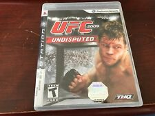 UFC Undisputed 2009 (Sony PlayStation 3, 2009) Complete