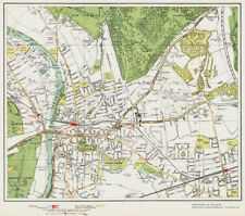 Banstead Map London 1932 #162 Cheam Belmont