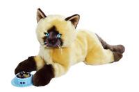 Rusty Plush Burmese Siamese Cat- 19 Inches Stuffed Plush Cat