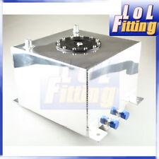 Universal Polished Lightweight Aluminum 20L / 5 Gallon Fuel Cell Tank