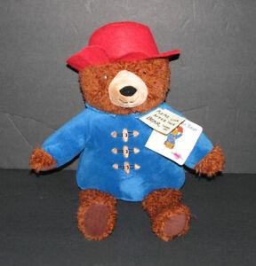 Kohl's Cares Paddington Bear Stuffed Animal Plush 10 Inches