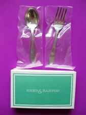 Brand New Reed & Barton Baby Fork and Spoon Set Stainless Steel w/original Box