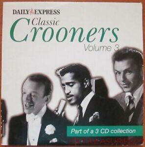 CLASSIC CROONERS VOL 3 MUSIC CD LOUIS ARMSTRONG BING CROSBY EDDIE FISHER
