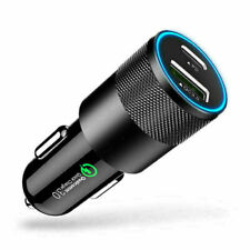 18W PD QC3.0 9V/2A USB-C Fast Charging Car Charger Adapter For iPhone 12 11 Pro