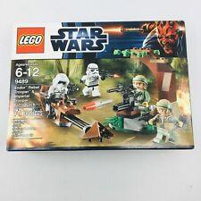 Lego Star Wars Endor Rebel Trooper & Imperial Trooper Battle Pack 9489 Sealed