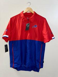 Nike Buffalo Bills NFL On-Field Football Coach Windbreaker CJ8601-100 Mens M NEW