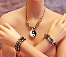 Phicen Female 1/6 Scale Painkiller Jane Yin-Yang Necklace & 2 Bracelets Jewelry