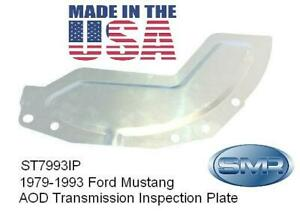 Ford Mustang Transmission Bellhousing AOD Inspection Plate - New - USA
