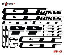 bike stickers frame dirt gt mtb bmx road hybrid tube restoration bicycle BMP057