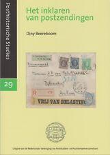 Het inklaren van postzendingen door Diny Beereboom, 2013