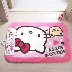 Hello Kitty Bath Mat Non Slip Toilet Mat Soft Bathroom - 5