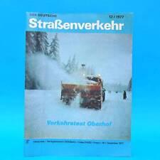 Der Deutsche Straßenverkehr 12/1977 Oberhof Ungarn Skoda Mokick S 50 Shiguli G