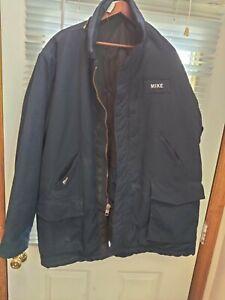 NOMEX IIIA 2 XR Navy Blue JKII 5605. TOPS FR Heavy Coat/Work Jacket