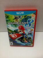 Mario Kart 8 (Nintendo Wii U, 2014) Complete w/ Manual Nice Shape !!