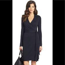 DIANE von FURSTENBERG DVF Jeanne Wrap Dress Sz 8 (Runs Small) EXCELLENT Cond.