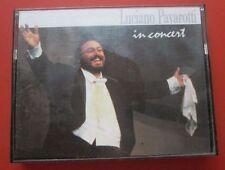 Luciano Pavarotti Tenor 2MC IN Concert, Quando Le Sere Al Placido, O Sole Mio