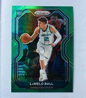 Lamelo Ball 2020-21 Panini Prizm GREEN PRIZM Rookie Card #278 SSP 🔥 RC RARE