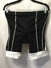 New PRIMAL Women's Cycling Prisma Shorts Padded Black 2XL XXL NWT