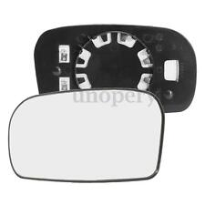 Left Passenger Side Heated Electric Wing Door Mirror Glass For Honda Civic 01-05