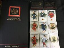 2016 Camiseta Futera Única Completa 120 Tarjeta Set Base entregado en 2 Cajas, Ronaldo, Messi