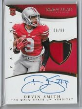 DEVIN SMITH 2015 IMMACULATE ROOKIE PATCH AUTO AUTOGRAPH #56/99   WJ68
