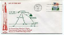 1968 Spy in the Sky Atlas-Agena Super Secret Payload Hovers Cape Canaveral USA