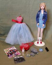 BARBIE *GENERATION GIRL Barbie w/ANKLE TATTOO 1998 #19428  New without Box