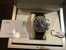 IWC Aquatimer Chronograph Titanium 42mm 3719 371918 man classic sports watch