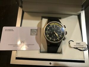 IWC Aquatimer Chronograph Titanium 42mm 3719 371918 man classic sports watch