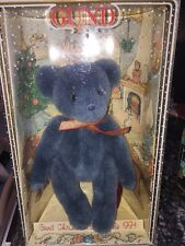 Gund Christmas Bear Collectible 1994 Blue