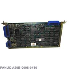 FANUC PCB - CRT/PUNCH CONTROL RS232 A20B-0008-0430