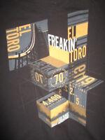 "Six Flags GREAT ADVENTURE Roller Coaster EL""Freakin"" TORO 4400 Ft (LG) T-Shirt"