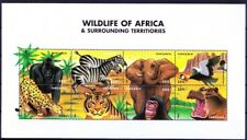Tanzania 1999 MNH SS,Wild Animals, Elephant Tiger Rhino Leopard Hippo Gorilla ()