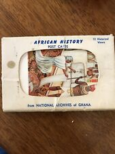 African History Post Cards From National Archives Of Ghana