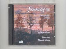 (CD) Schoenberg: Transfigured Night; Erwortung / Anja Silja; Craft; Philharmonia