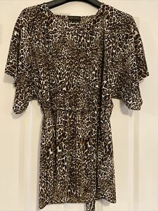 Next Animal Print Maternity Blouse Size 12 Bnwt
