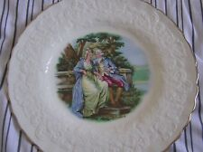 Large Alfred Meakin Collectors plate with lovers picture 2