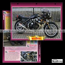 #065.01 Fiche Moto HONDA MARTIN 6 CBX 1000 Modèle 1984 Motorcycle Card