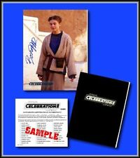 Star Wars Celebration Signed Photo of BONNIE PIESSE as YOUNG AUNT BERU