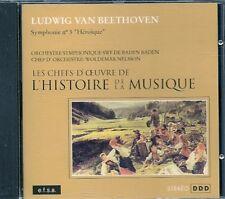 CD CLASSIQUE--BEETHOVEN--SYMPHONIE N° 3 / HEROIQUE