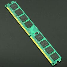 New 2GB PC2-6400 DDR2 800Mhz DIMM 240pin Desktop Memory NON-ECC 2G Low Density