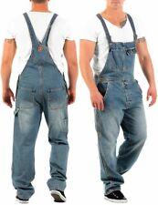 Jet Lag Herren Latz Jeans Overall denim long Herrenhose Latzhose Latzjeans Hose